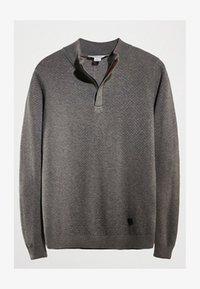 Massimo Dutti - MIT STRUKTURMUSTER  - Pullover - grey - 2