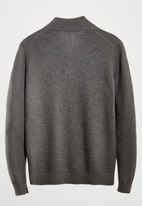 Massimo Dutti - MIT STRUKTURMUSTER  - Pullover - grey - 3