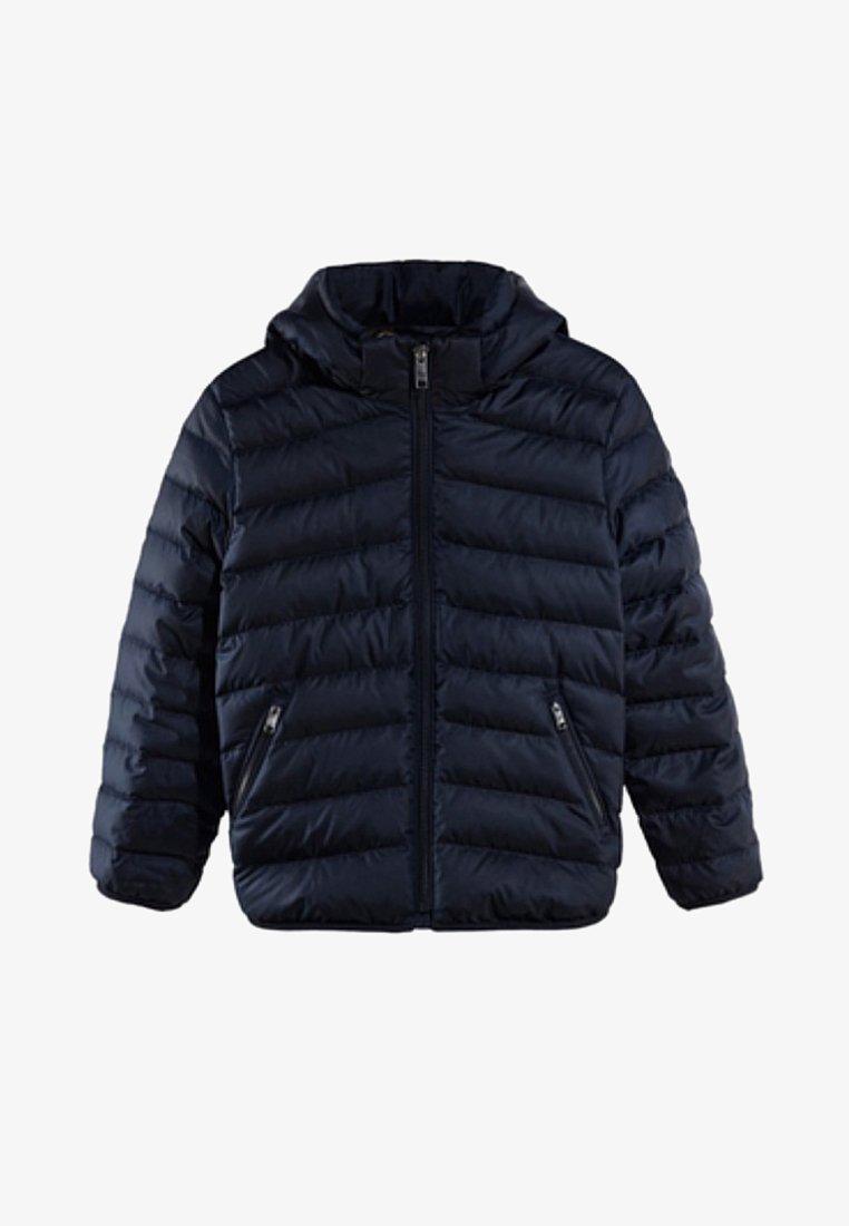 Massimo Dutti - MIT KAPUZE - Down jacket - dark blue