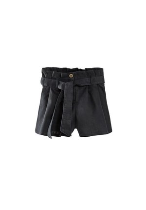 Shorts - blue-black denim