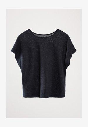 T-shirt basic - blue-black denim
