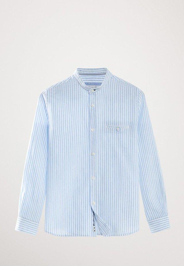 MIT MAOKRAGEN  - Skjorta - light blue