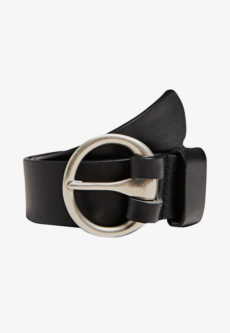 Massimo Dutti - MIT RUNDER SCHNALLE 06105612 - Belt - black