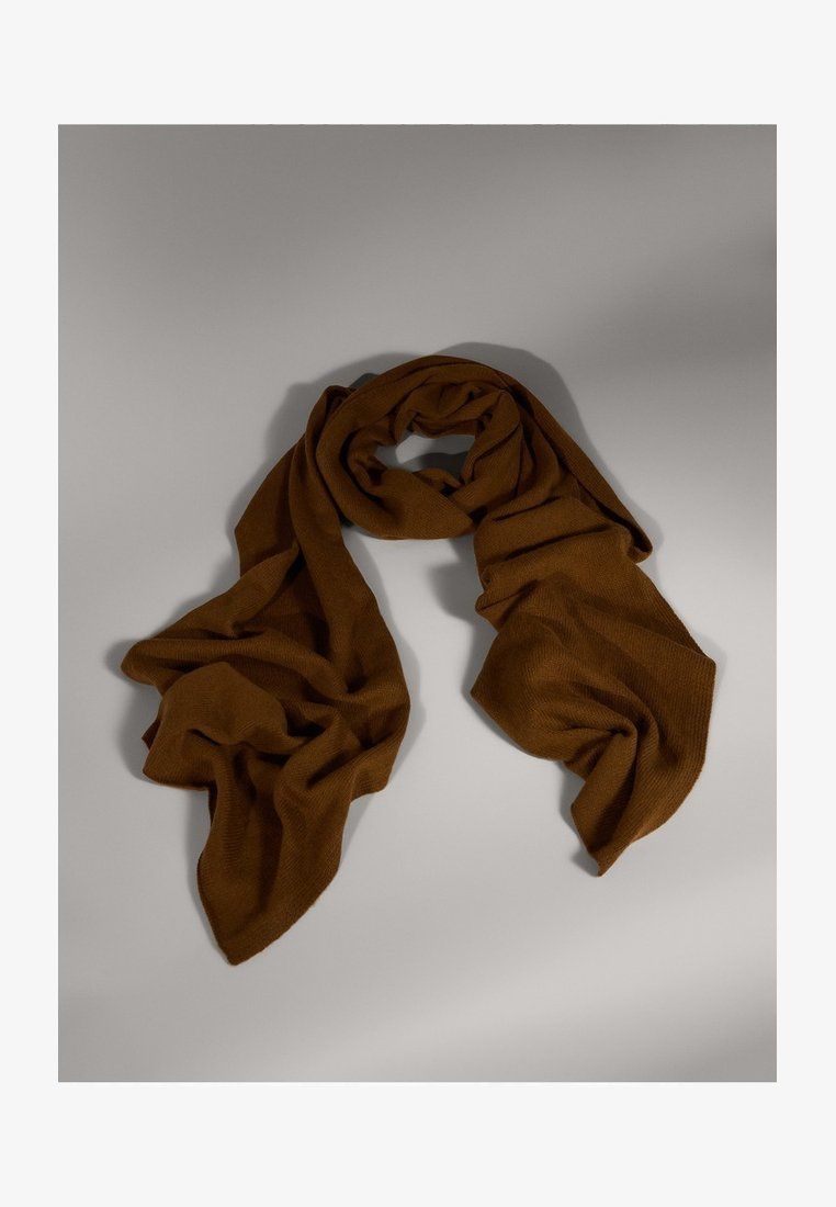 Massimo Dutti - CAMPAIGN COLLECTION - Sjal / Tørklæder - brown