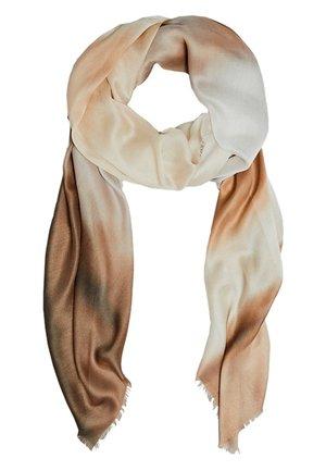 HALSTUCH AUS MODAL UND SEIDE MIT SFUMATO-PRINT 06323762 - Sjaal - brown