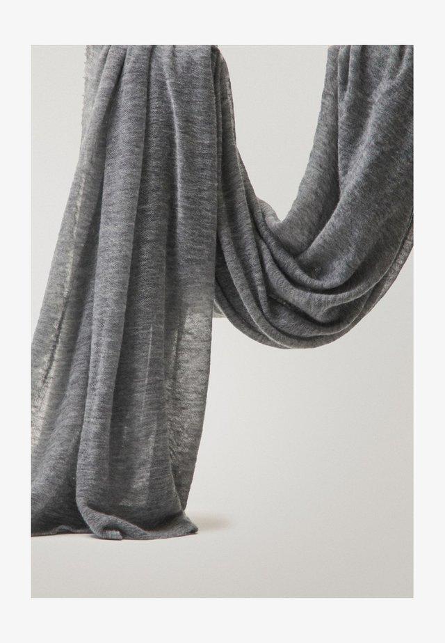 AUS 100% KASCHMIR - Écharpe - grey