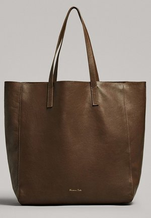 ZWEIFARBIGE  - Shopping bag - brown