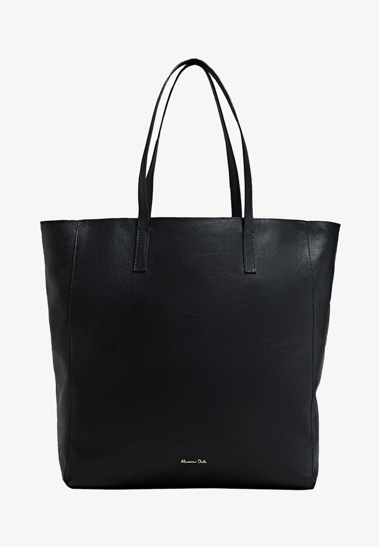 Massimo Dutti - Torba na zakupy - black