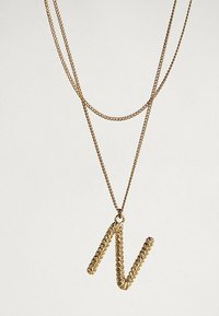 Massimo Dutti - MIT BUCHSTABE N  - Necklace - gold-coloured - 2