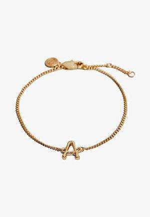 Bracelet - gold-coloued