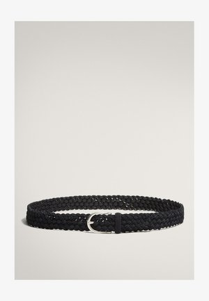 Braided belt - blue