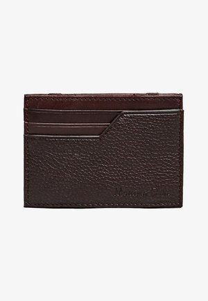 Business card holder - brown