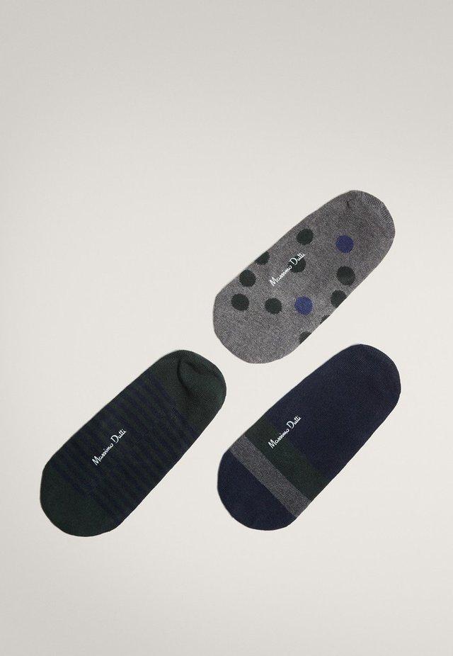 3 PACK - Socks - evergreen