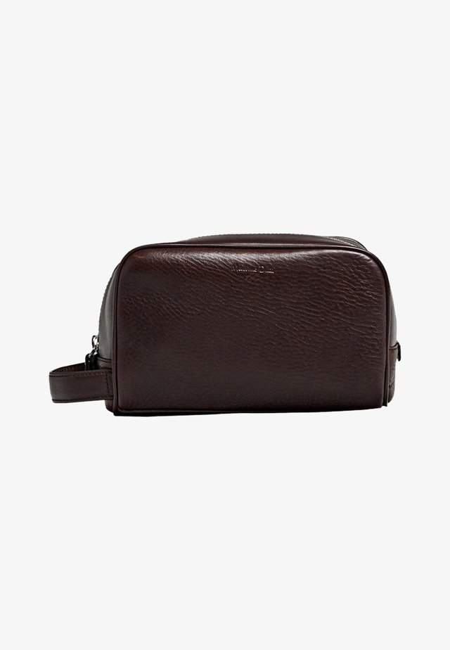 Wash bag - brown