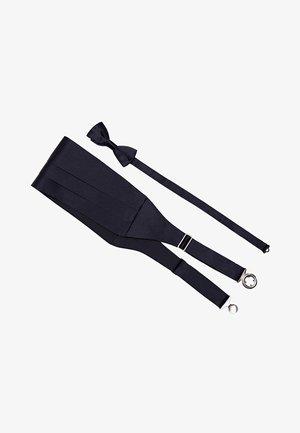 GARNITUR AUS SCHÄRPE UND FLIEGE  - Bow tie - dark blue
