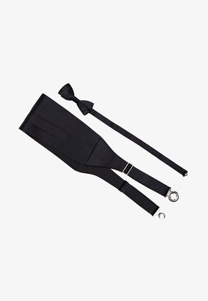 GARNITUR AUS SCHÄRPE UND FLIEGE  - Bow tie - black