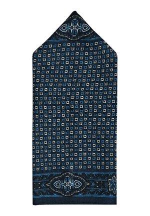 ELEGANTES EINSTECKTUCH AUS REINER SEIDE MIT TUPFEN 01281359 - Lommetørklæde - blue-black denim