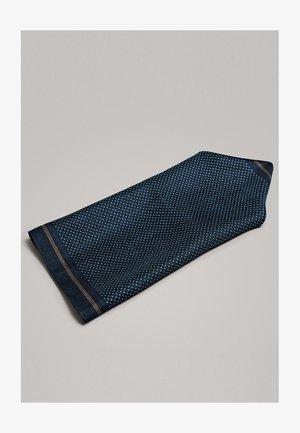 ELEGANTES EINSTECKTUCH AUS REINER SEIDE MIT TUPFEN 01281359 - Pochet - blue-black denim