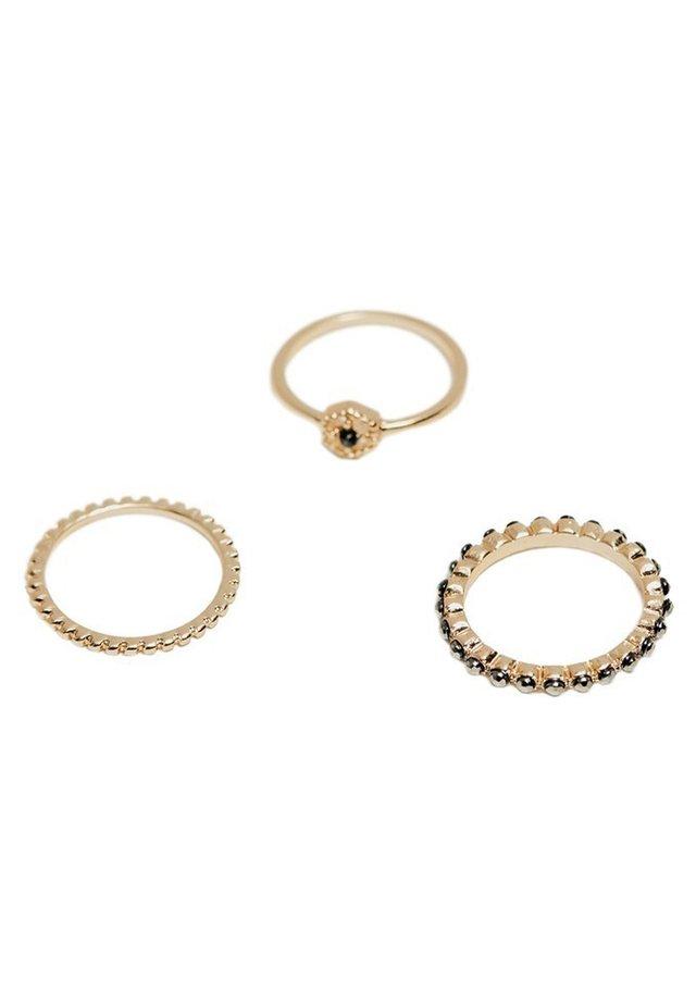 SET RINGE 04608071 - Ringe - black