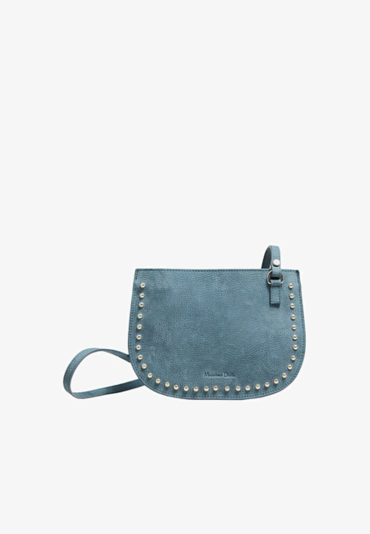 Massimo Dutti - MIT NIETEN - Sac bandoulière - dark blue