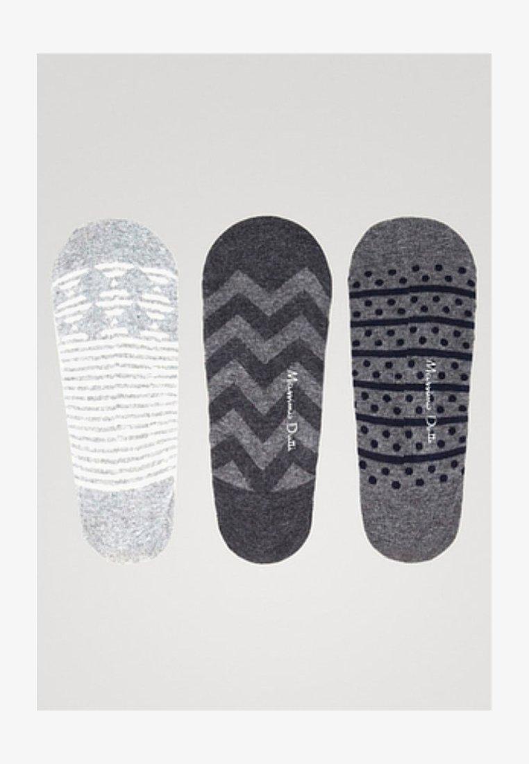 Massimo Dutti - 3 PACK JOIN LIFE - Socks - dark grey