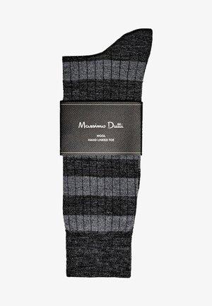 MIT STREIFEN - Chaussettes - dark grey