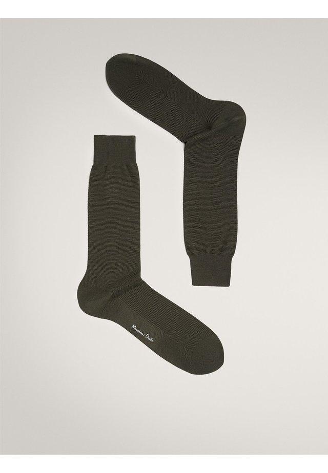 MIT WABENMUSTER - Socks - green