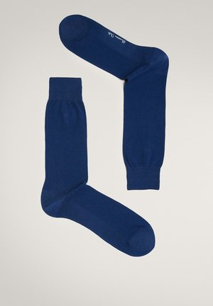 MIT WABENMUSTER - Sokken - blue