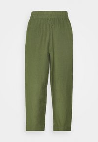 Madewell - HUSTON IN SOLID - Trousers - palm tree - 3
