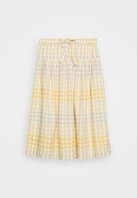 Madewell - PAPER BAG MIDI SKIRT - A-line skirt - ombre pollen - 4
