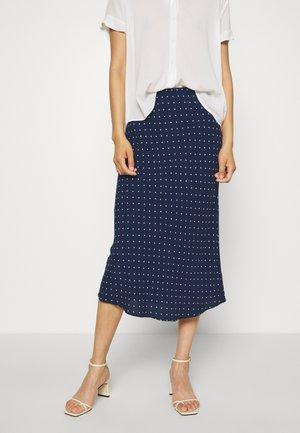 A-line skirt - bengali indigo