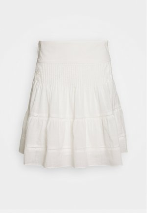 SMOCKED BACK MINI PINTUCKS - A-line skirt - lighthouse
