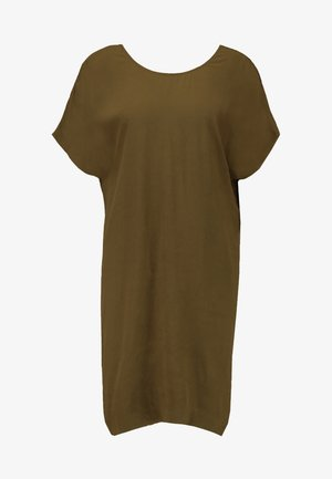 TIE BACK EASY DRESS - Robe d'été - weathered olive