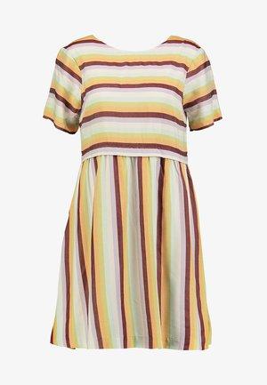 SCOOP BACK DRESS - Day dress - sea/haze/multi