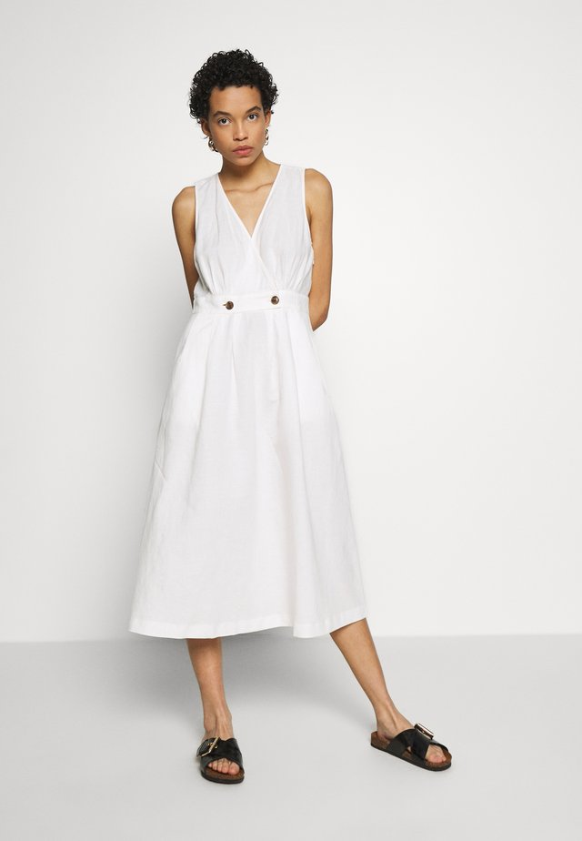 VNECK MIDI DRESS - Korte jurk - lighthouse