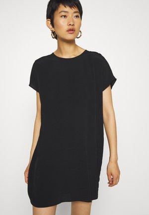 BUTTON BACK EASY DRESS - Hverdagskjoler - true black