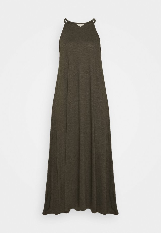 CAMI DRESS - Maxi-jurk - dried olive