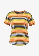 ANYA WHISPER TEE - Print T-shirt - pastel orange boardwalk