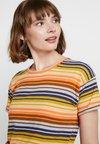 Madewell - ANYA WHISPER TEE - Print T-shirt - pastel orange boardwalk