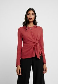 Madewell - COMPOTE - Long sleeved top - bright ember - 0