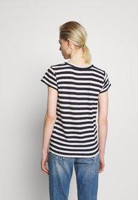 Madewell - DAFFODIL TEE IN COOT STRIPE - Print T-shirt - dark nightfall - 2