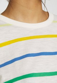 Madewell - WHISPER CREWNECK TEE IN STORM STRIPE - Print T-shirt - hermitage blue - 5