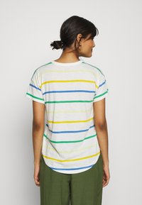 Madewell - WHISPER CREWNECK TEE IN STORM STRIPE - Print T-shirt - hermitage blue - 2