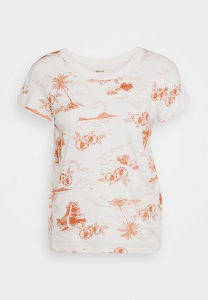 DAFFODIL TEE GRAPHIC - T-shirts med print - paradise toile lighthouse
