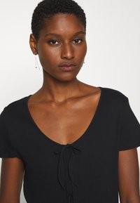 Madewell - ATOBOY TEE IN EASY - T-shirt con stampa - true black - 3