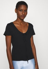 Madewell - ATOBOY TEE IN EASY - T-shirt con stampa - true black - 0