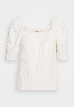CAFÉ CLUNY - T-shirt con stampa - pearl ivory