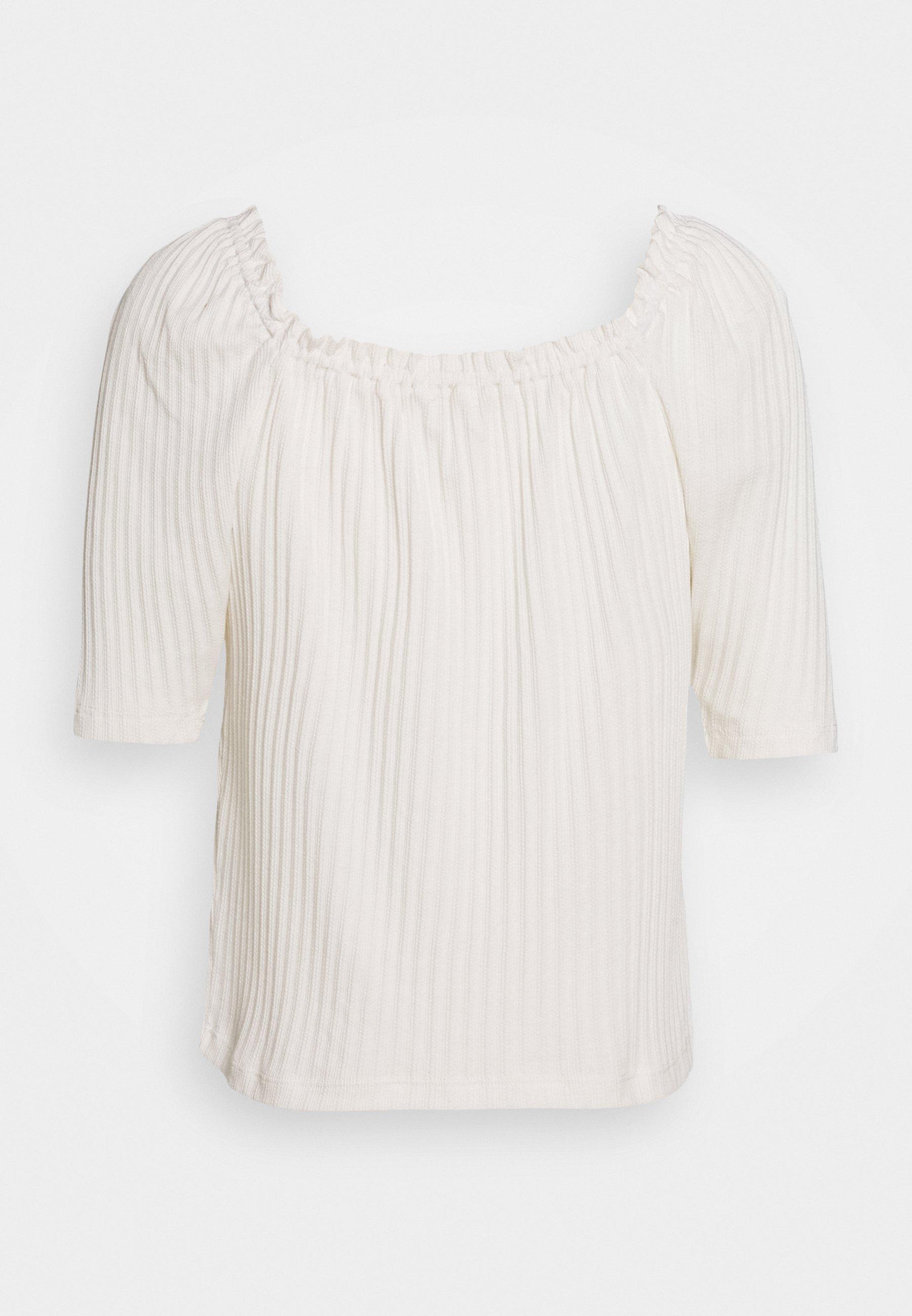 Madewell Café Cluny - T-shirt Print Pearl Ivory UpyDjotf PA