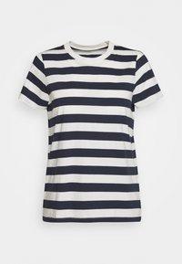 Madewell - NORTHSIDE VINTAGE TEE IN IRON MAN STRIPE - Print T-shirt - dark baltic - 0