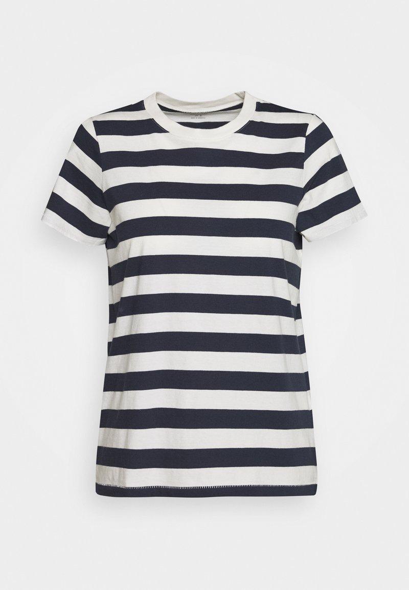 Madewell - NORTHSIDE VINTAGE TEE IN IRON MAN STRIPE - Print T-shirt - dark baltic